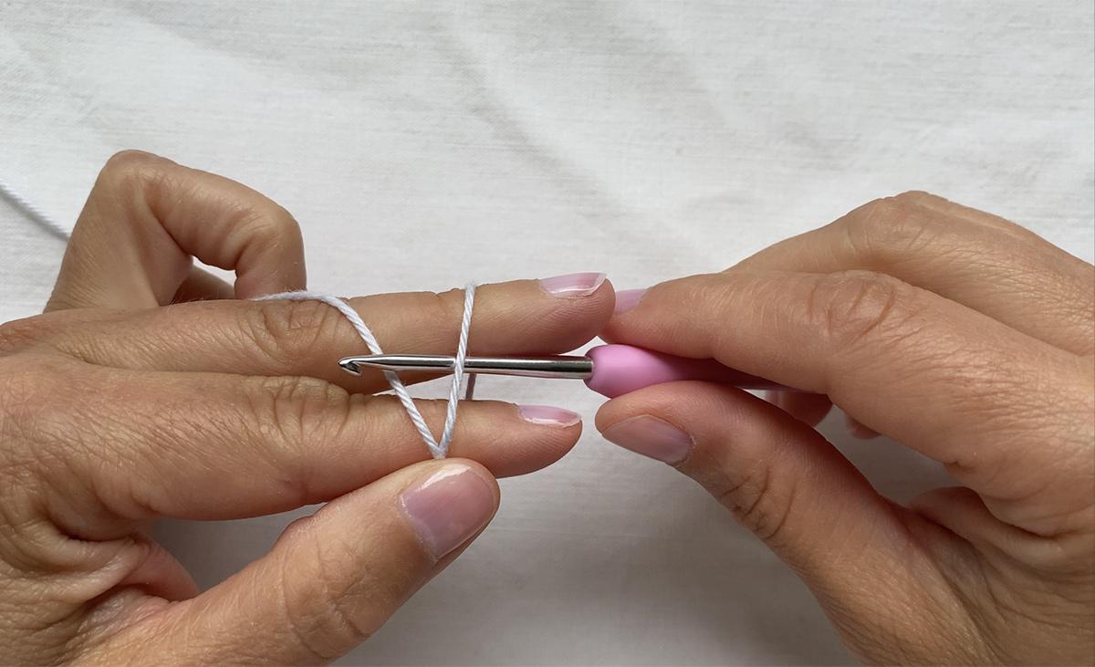 The crochet magig ring - step 2