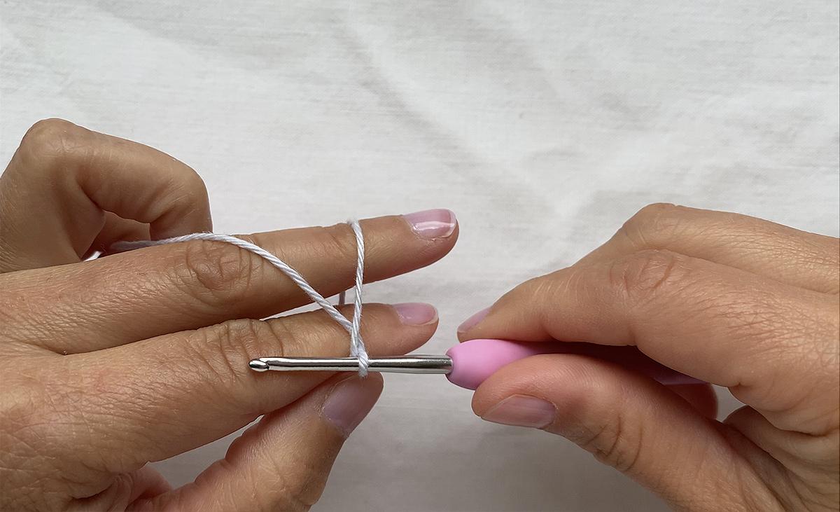 The crochet magig ring - step 3