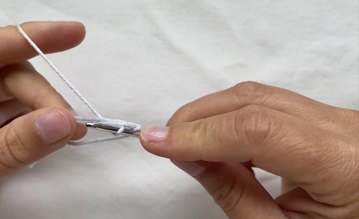 The crochet magig ring - step 8