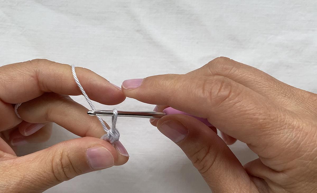 The crochet magig ring - step 10